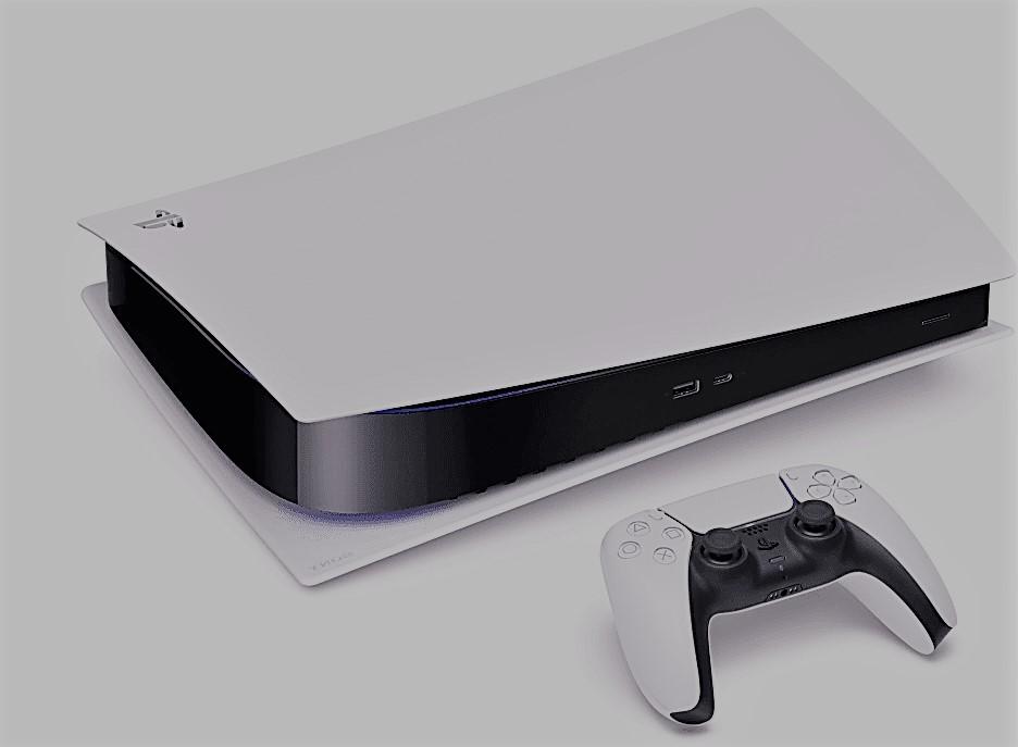 De nieuwste PlayStation 5 waarop je vele games kunt spelen.